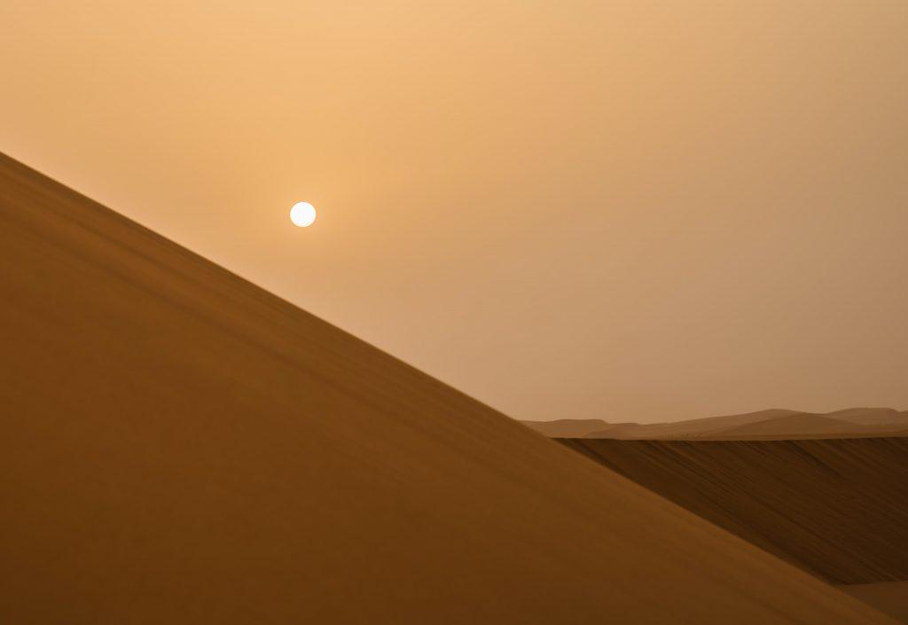 Saudi arabia desert