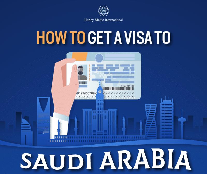 How to get a visa to Saudi Arabia? [Infographic]