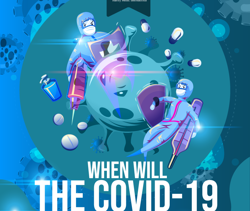 When will the COVID-19 pandemic end? [Infographic]