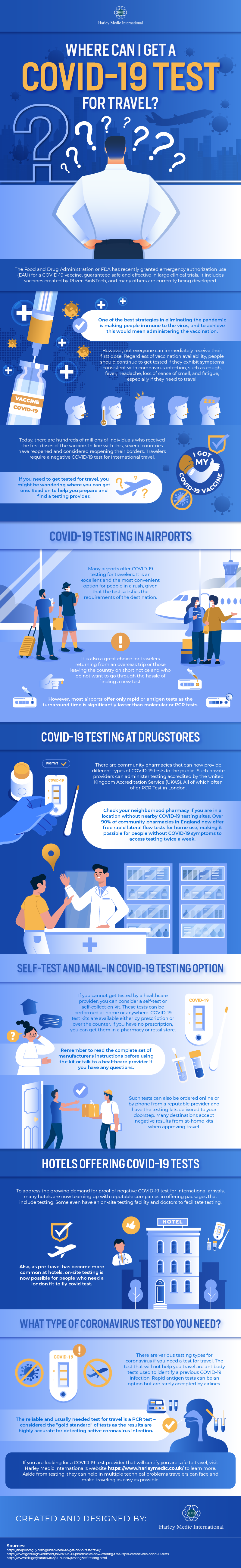 Where can I get a COVID-19 test for travel