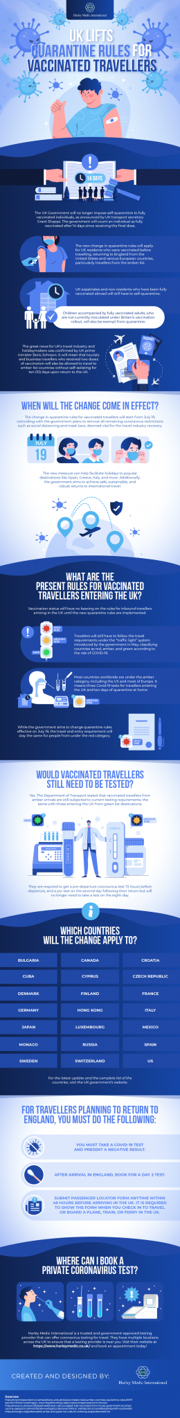UK Lifts Quarantine Rules for Vaccinated Travellers